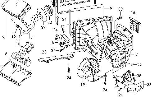 Heater Motor 7E2820021