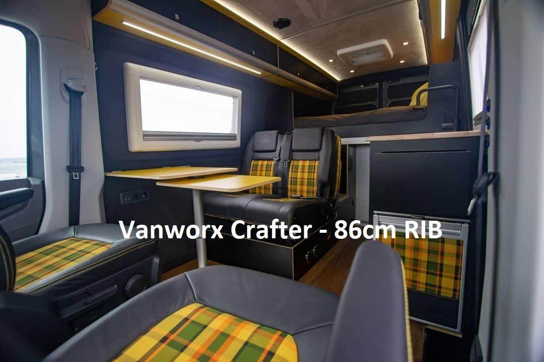 RIB 86cm Seats